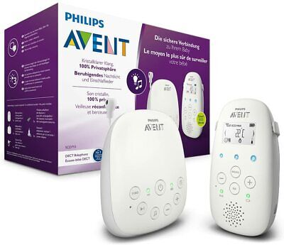 AU453.27 • Buy Philips Avent Scd713/26 Video-Monitor For Babies 330 M Grey, White - Baby