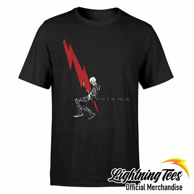 £14.95 • Buy Official Queens Of The Stone Age Lightning Dude T-Shirt
