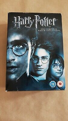 $ CDN31.70 • Buy Harry Potter - The Complete 8 Film Collection / UK (region 2) 8-disc DVD Box Set