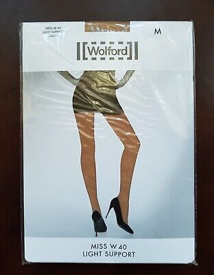 New Wolford Tights Miss W Light Support Size M In Fairly Light  • 16.99£