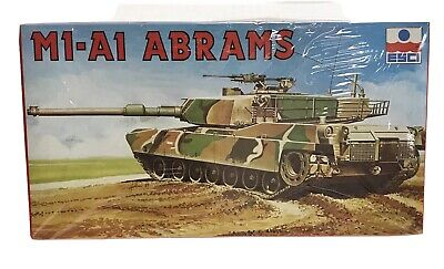 $14.95 • Buy ESCI 1/72 Scale Kit M1-A1 ABRAMS # 8072 Factory Sealed