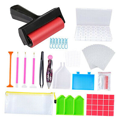 81pcs 5D Diamond Painting Roller And Fix Tools Accessories Tools For Adults • 12.60£