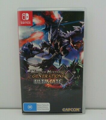 AU70 • Buy MONSTER HUNTER GENERATIONS ULTIMATE Nintendo SWITCH Game