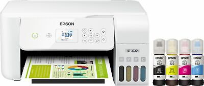 View Details Brand New Epson EcoTank ET-2720 Wireless All-in-One Inkjet Printer White  • 288.99$
