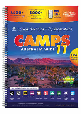AU79.75 • Buy Camps Snaps 11 Book - Camps Australia Wide - Large B4 Size Spiral Bound Soft Cov