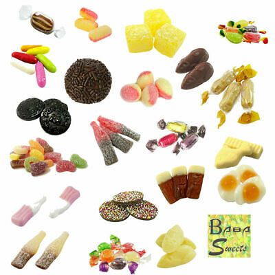 Pick And Mix Christmas Sweets Retro Candy Kids Party Wedding Classic Traditional • 1.99£