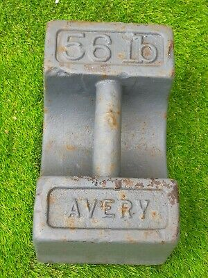 £47 • Buy Avery Weights 50 Lb Cast Iron #1