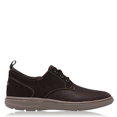 Mens Rockport Zaden Plain Toe Shoes Casual Textured New • 40£