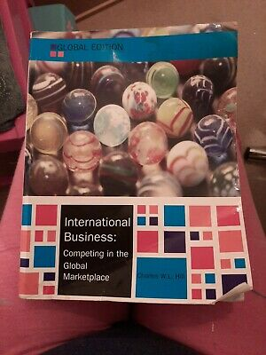 £8 • Buy International Business, Global Edition By Charles W. L. Hill (Paperback, 2014)