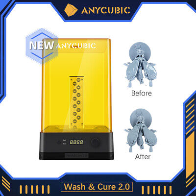 AU184 • Buy ANYCUBIC Wash And Cure 2.0 Washing & Curing For LCD Resin 3D Printer Photon Mars