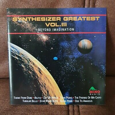 £5 • Buy Synthesizer Greatest Vol 3 Beyond Imagination CD