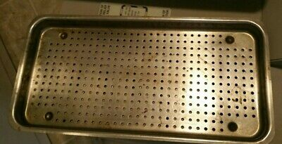 $50 • Buy OEM Ritter M9 UltraClave Steam Sterilize Autoclave Small Tray 12 X 6  Top Bottom