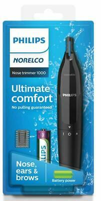 AU20.64 • Buy Philips Norelco NT1605/60 Nose Trimmer Series 1000 Battery Powered NEW