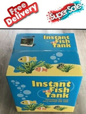 AU69 • Buy New 43 Ltr Instant Fish Tank Includes Everything Except Lid,fish & Stand.