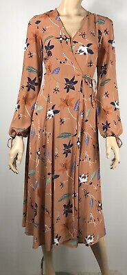 AU20 • Buy Urban Outfitters Floral Maxi Wrap Dress - Size XS