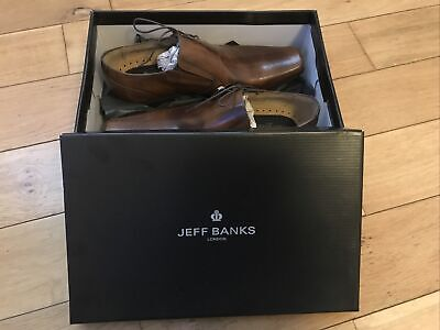 Jeff Banks Blackprince Side Lace Shoes Size 8 In Tan. Brand New • 44.99£
