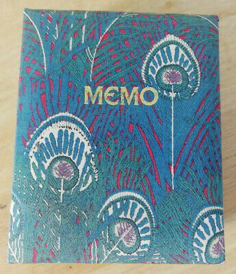 £68.99 • Buy Liberty Of London Vintage Hand Made Fabric In England Memo Book, Original Notepa