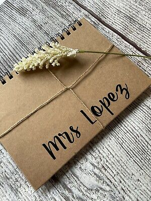 £6.99 • Buy Personalised Notepad Diary Gift