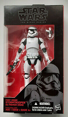 Star Wars The Black Series - First Order Stormtrooper #04 - 6  Scale • 16.99£