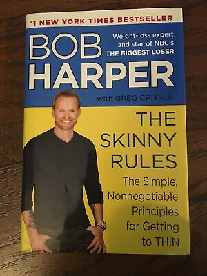 The Skinny Rules By Bob Harper THE BIGGEST LOSER #1 NY Times Bestseller • 3.61£