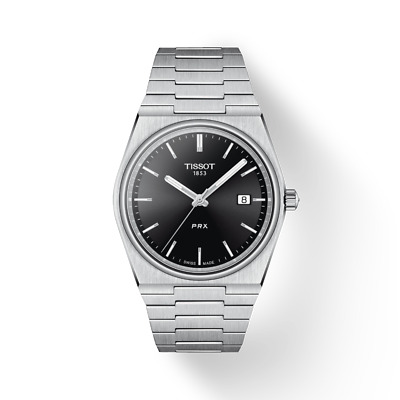 $ CDN417.31 • Buy New Tissot PRX Stainless Steel Black Dial Men's Watch T137.410.11.051.00