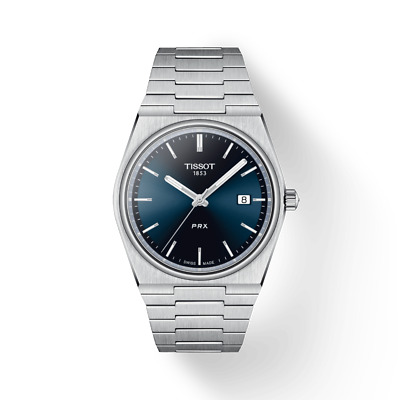 $ CDN420 • Buy New Tissot PRX Stainless Steel Blue Dial Men's Watch T137.410.11.041.00