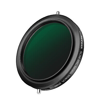 AU48.99 • Buy Neewer 67mm Variable Fader ND2-ND32 ND Filter And CPL Circular Polarizing Filter