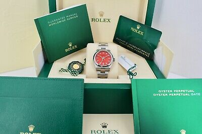 $ CDN11445.49 • Buy Rolex Oyster Perpetual 277200 Coral 31mm Dial Box And Papers 2020
