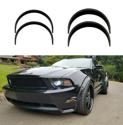 $ CDN193.53 • Buy Fender Flares For Ford Mustang5Shelby Wide Body Kit Arch Extensions 2.0 +3.5  KL