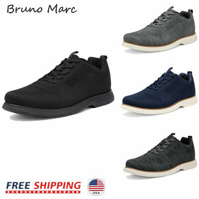 $16.89 • Buy Bruno Marc Mens Fashion Sneakers Mid Top Knit Comfort Casual Shoes Walking Shoes