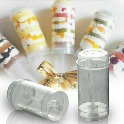 £13.86 • Buy 50x Cakes Dessert Push Up Pop Containers Shooter Pop Party Use For Push Cake UK
