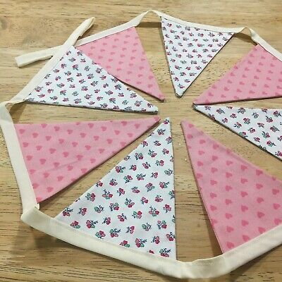 Vintage Bunting Banner Garland | Wedding Home Decor Birthday | Liberty Of London • 12.80£