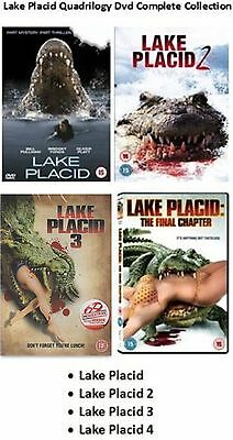 Lake Placid Quadrilogy Series 1-4 Complete Collection 1 2 3 4 New Region 2 DVD • 39.99£