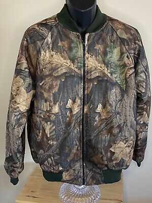 £17.04 • Buy American Outfitter Garments Advantage Timber Camo Hunt Lined Jacket Made USA XL