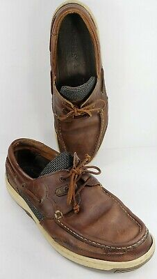 £53.98 • Buy Dubarry Of Ireland Men's Boating Deck Shoes Brown Leather Size 11M 44EU