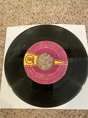 45 Rpm Vinyl Martha And The Vandellas One Way Out / Love Bug Leave My Heart Alon • 10.85£