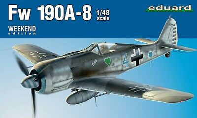 Eduard Weekend Edition 1:48 Scale - FW190A-8 Model Kit 84122 • 14.99£