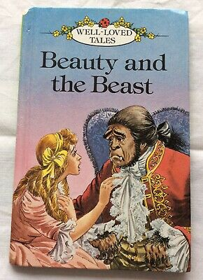 Ladybird, Well-loved Tales, 606D, Beauty And The Beast, VGC • 2£