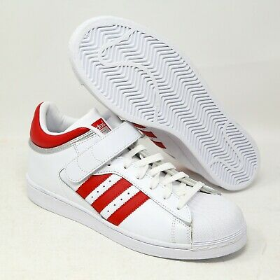 £47.80 • Buy Adidas Pro Shell Sneaker Scarlet Red White BY4384 Mismate Left 10.5, Right 8.5