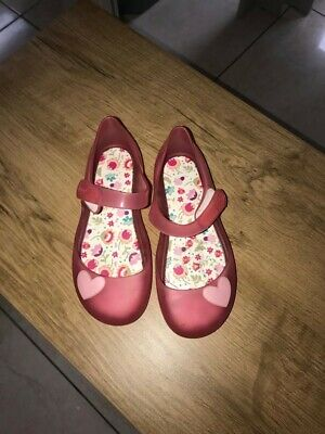 Igor Girls Pink Jelly Sandals Size 30 Excellent Condition • 10£