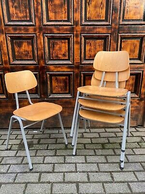 AU108.18 • Buy 1/40 Industriedesign Stuhl Stacking Chair Loft Fabrik Cafe Bar Resaurant