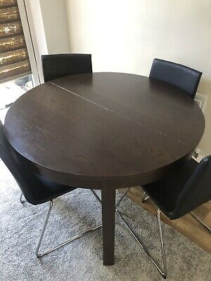 Ikea Dining Table And 4 Chairs Extandable • 95£