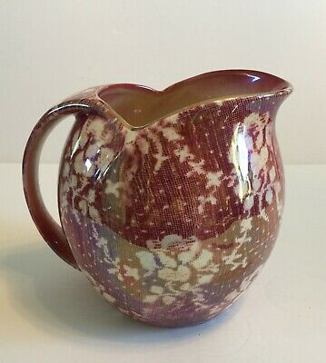 $ CDN85 • Buy Vintage Royal Winton Grimwades England Cranberry Brocade Chintz Large Pitcher