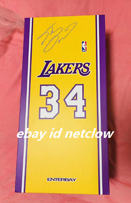 $450 • Buy Enterbay NBA LA Lakers Shaquille O'Neal 1:6 In Stock