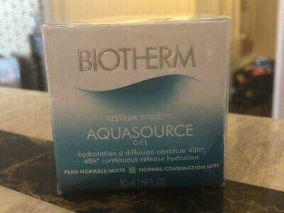 £29.99 • Buy Biotherm Aquasource Gel 48h*Continuous Release Hyd Normal/Combination 50ml
