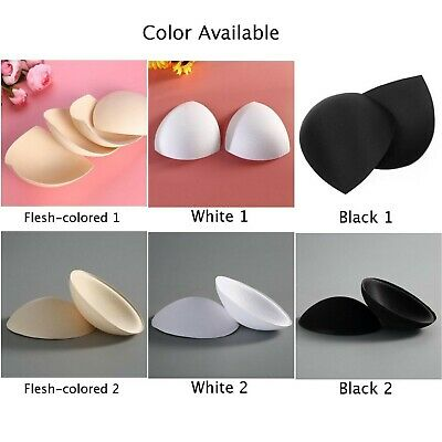 £3.59 • Buy 3-Pair Removable Inserts Pads Sponge Foam Push Replacement Sports Bra For Womens