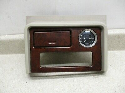 $29 • Buy 02 To 06 Escalade Center Console Front Trim Panel Bezel, Clock OEM 15052242*