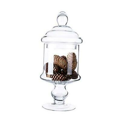 Apothecary Glass Candy Jar With Lids, Candy Buffet Display S H:12  D:6  • 22.68£