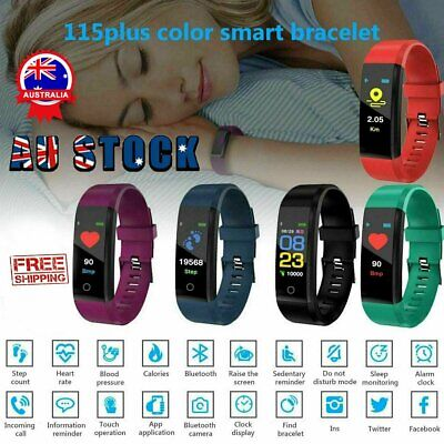 AU12.94 • Buy Smart Watch Band Sport Activity Fitness Tracker For Kids Fit Bit For Android IOS
