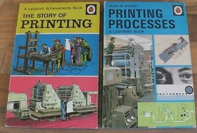 Ladybird Book,Printing Processes,The Story Of Printing,Series 654,601 • 16.99£